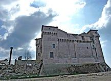 The Castle of Santa Severa. Santa Marinella Rome Italy The Castle of Santa Severa is one of the most important areas of archaeological interest on the Tyrrhenian royalty free stock photo