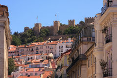 Castle of Sao Jorge Stock Image
