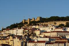 Castle of Sao Jorge - Lisbon Royalty Free Stock Photography