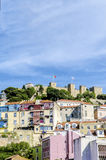 Castle Sao Jorge, Lisbon, Portugal Royalty Free Stock Photography