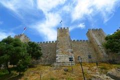 Castle of Sao Jorge, Lisbon, Portugal Stock Image