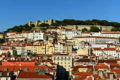 Castle of Sao Jorge, Lisbon, Portugal Stock Photography