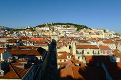 Castle of Sao Jorge, Lisbon, Portugal Royalty Free Stock Photo