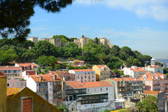 Castle of Sao Jorge, Lisbon, Portugal Stock Photo