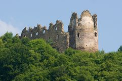 Castle Sasov,Slovakia Royalty Free Stock Photos