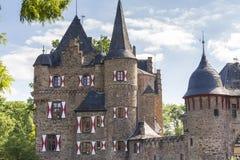 Castle satzvey germany. The beautiful castle satzvey germany Royalty Free Stock Photo