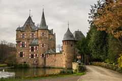Castle of Satzvey, Germany. Typical water castle, one of the best preserved in Germany Royalty Free Stock Photography