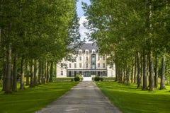 Castle of Saulon-la-Rue Royalty Free Stock Image