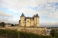 Castle of Saumur Stock Image
