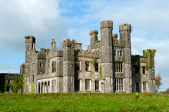 Castle Saunderson on sunny day Royalty Free Stock Images