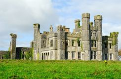Castle Saunderson on sunny day Stock Image