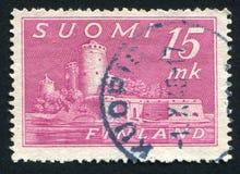 Castle in Savonlinna royalty free stock photo