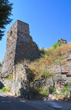 Castle of Scalea. Calabria. Italy. Royalty Free Stock Photography