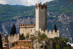 Castle of Scaligero Royalty Free Stock Images