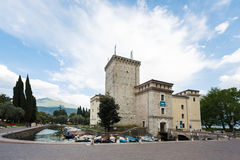 Castle of Scaligero Royalty Free Stock Image