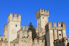 Castle Scaligero at Sirmione, Italy Royalty Free Stock Images