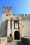 Castle Scaligero of Sirmione, Italy Stock Photo