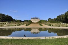 Castle of Sceaux, France Royalty Free Stock Photography