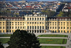 Castle Schönbrunn Stock Photos