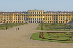 Castle Schönbrunn, Vienna Stock Photo