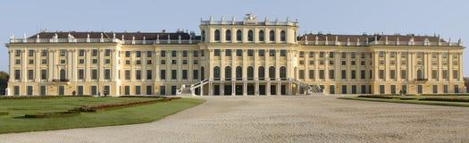 Castle Schönbrunn, Vienna. Panoramic picture castle Schönbrunn, Vienna Royalty Free Stock Photos