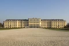 Castle Schönbrunn, Vienna. Panoramic picture castle Schönbrunn, Vienna Stock Photos