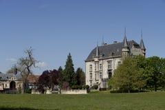 Castle Schaloen at Valkenburg, Zuid Limburg Royalty Free Stock Photos