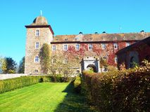 Castle Schnellenberg. Attendorn, Germany 2014 Royalty Free Stock Image