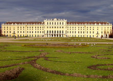 Castle Schoenbrunn Vienna Royalty Free Stock Photos