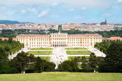 Castle Schoenbrunn , Vienna ,Austria Royalty Free Stock Images