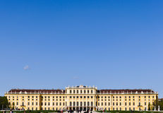 Castle schoenbrunn, vienna, austria Royalty Free Stock Photos