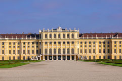 Castle Schoenbrunn Stock Photo