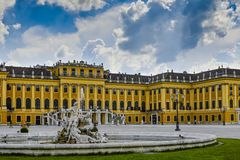 Castle Schoenbrunn Royalty Free Stock Photo