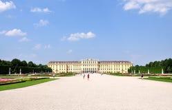 Castle - Schonbrunn. City -  Vienna, Austria Royalty Free Stock Photo