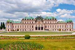 Castle Schonbrunn in Vienna Royalty Free Stock Photography