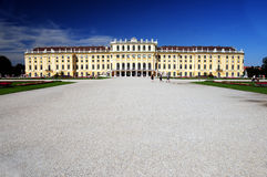 Castle Schonbrunn, Vienna Stock Photo