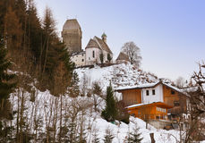 Castle Schwaz in Austria Royalty Free Stock Photos