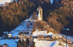 Castle Schwaz in Austria Royalty Free Stock Photography