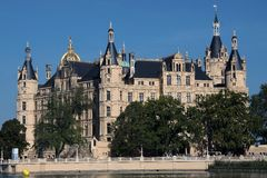 Castle Schwerin. The castle of Schwerin in north germany Royalty Free Stock Images