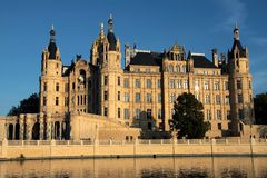 Castle Schwerin. The castle of Schwerin in north germany Royalty Free Stock Photos