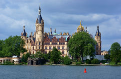 Castle schwerin Royalty Free Stock Image