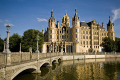 Castle of schwerin in germany Stock Photo