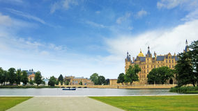 Castle of Schwerin Stock Image