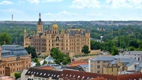 Castle of Schwerin Stock Image