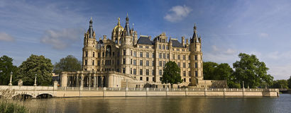 Castle in Schwerin royalty free stock images