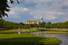 Castle schwerin Stock Photos