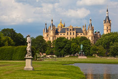 Castle schwerin Stock Photography
