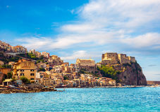 Castle Scilla in Calabria Stock Photography