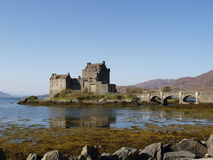 Castle in Scotland Royalty Free Stock Image
