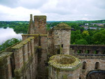 Castle of Scotland. Castle on the north west coast of Scotland Royalty Free Stock Photo
